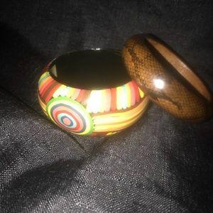 Wood bangles !!!